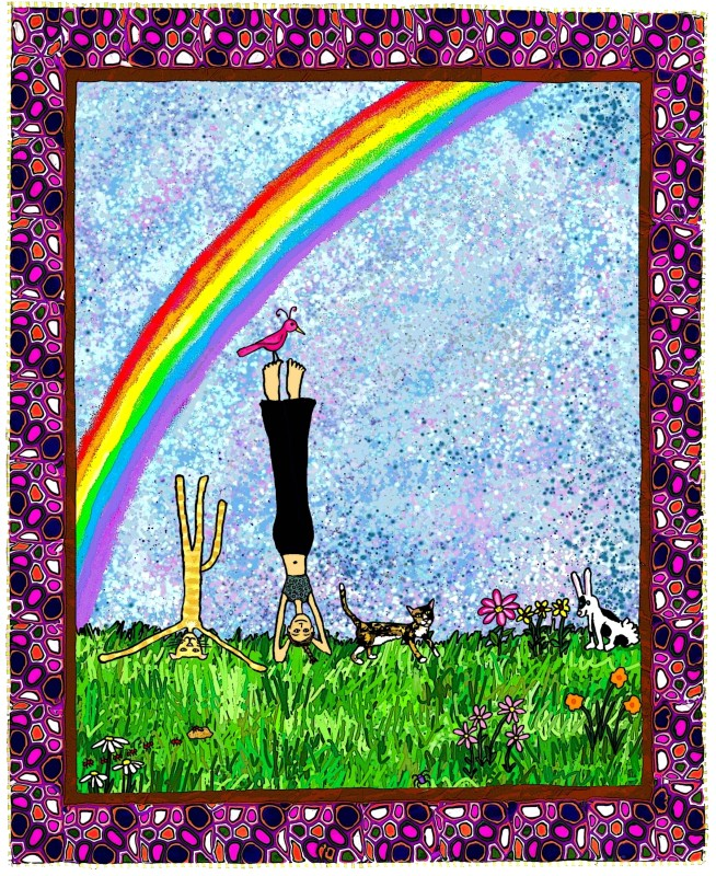 Rainbow Headstand Sam Long S Art Charleston Sc
