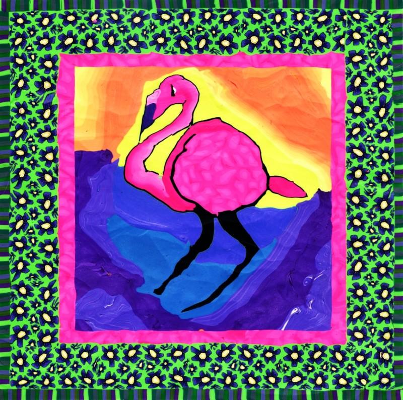 Flamingo Sam Long S Art Charleston Sc
